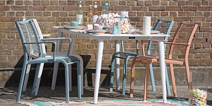 Tischgruppe Pastel